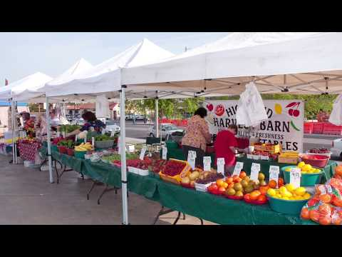 A Totally Unique Way To Market Your Live Produce At A Farmers Market!