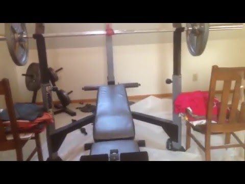 How to Incline bench without a spotter at home