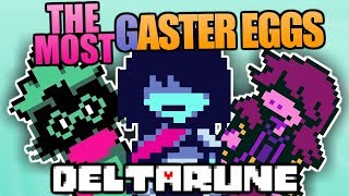 The Most Easter Eggs, Secrets, And References In Deltarune - Delta Rune Secrets Part 4
