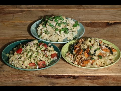 Pasta Salad - 3 Ways  | Working Women's Kitchen | Chef Pallavi Nigam | Sanjeev Kapoor Khazana
