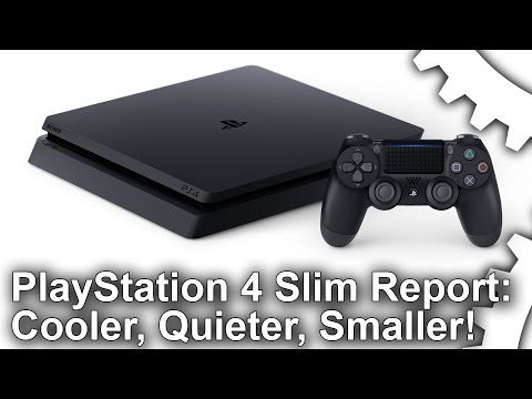 Hands-On With The PS4 Slim CUH-2000: Smaller, Cooler, Quieter