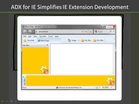 Internet Explorer add-on development made easy (C#, VB.NET)