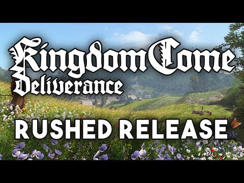 Kingdom Come Dev Admits the Game Needed More Polish Before Release!!