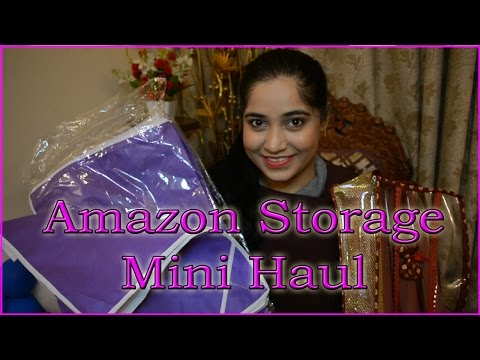 Amazon Storage Mini Haul | Crazy Indian Mother | RGV Love
