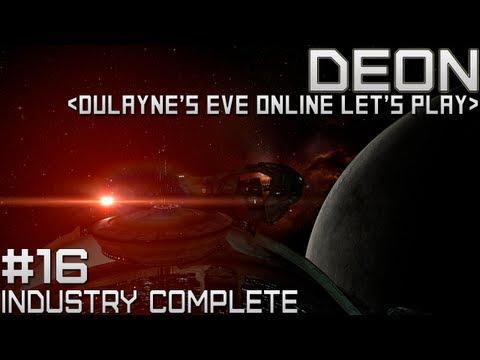Lets Play EVE Online - Episode 16 - Industry Complete (Industry Agent Walkthrough)