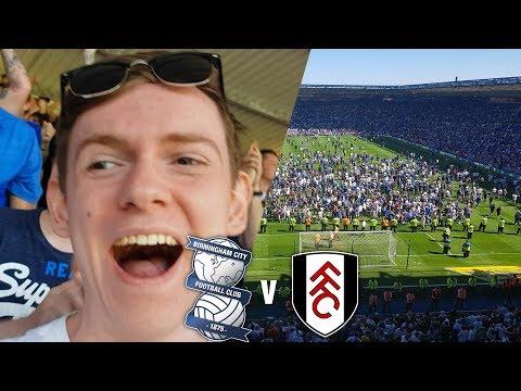 *SURVIVAL PITCH INVASION* - Birmingham City 3-1 Fulham Vlog