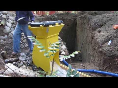 Fraser River Gold Claim DIY Sluice Box  (1 man washplant )