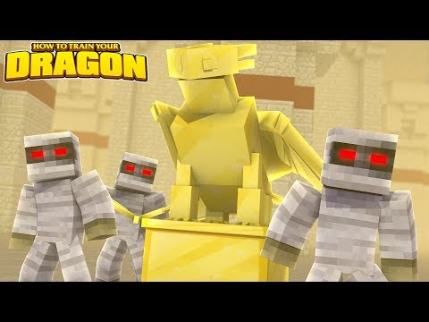 A GOLDEN DRAGON!? - How To Train Your Dragon w/TinyTurtle