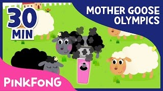 Mother Goose SPECIAL | Sheep shearing, Flipping card game and more | Pinkfong Songs for Children