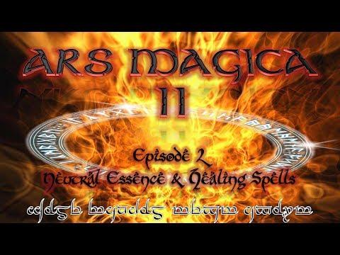 Lets Play Ars Magica II - 2 - Neutral Essence & Healing Spells