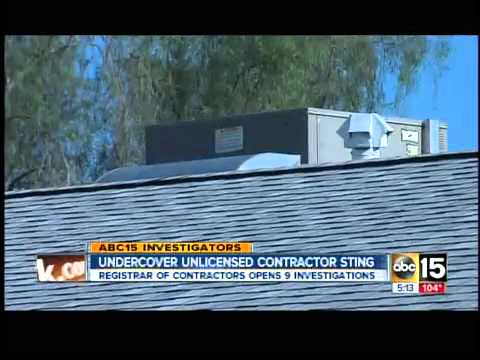 Arizona Registrar of Contractors cracking down on unlicensed