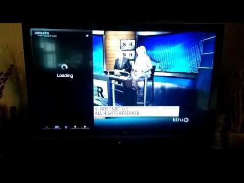 Vizio TV not streaming Amazon videos