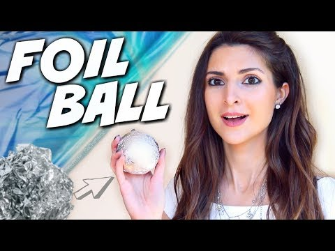 JAPANESE FOIL BALL CHALLENGE | SoCraftastic