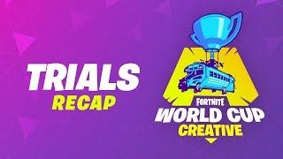 Creative Trials Recap - Fortnite World Cup