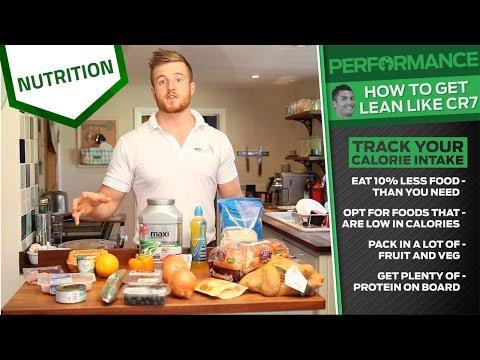 How to get lean like Cristiano Ronaldo | Elite sports nutrition