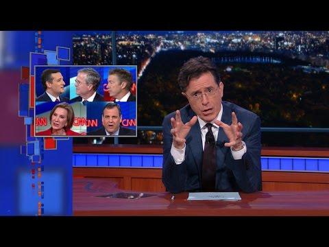 Stephen Totally Watched CNN's GOP Debate