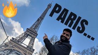 33 HOURS IN PARIS ❄️🔥😱