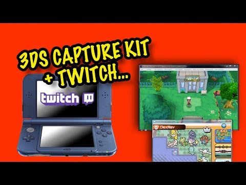How I Twitch Stream a 3DS Game (With 3DS Capture Kit)