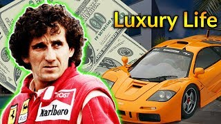 Alain Prost Luxury Lifestyle | Bio, Family, Net worth, Earning, House, Cars