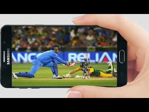 How to Watch Live cricket On Mobile, Live Cricket App