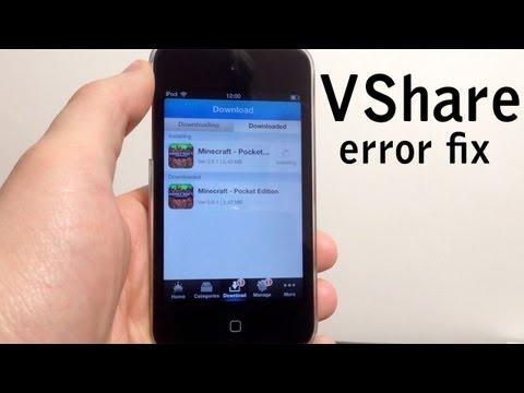 Fix VShare Error:
