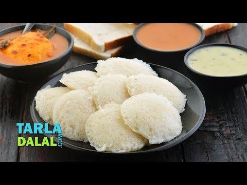 Instant Bread Idli by Tarla Dalal
