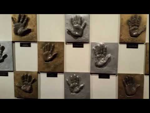 Hand Casts of famous people