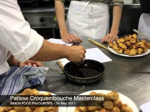 Patisse Croquembouche Masterclass - 24 May 2011