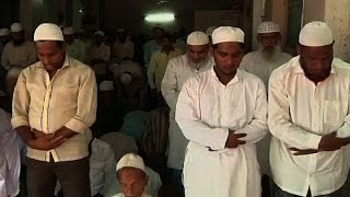 Hindu- Muslim brotherhood: Leather merchant opens his shop for local Muslim community to o