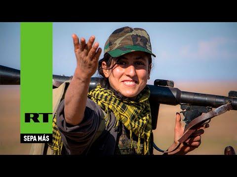 Cómo las mujeres kurdas hacen que el Estado Islámico se tambalee