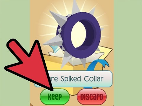 Animal jam How to get a rare spike collar (2017)