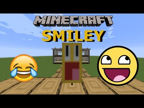 HOW TO MAKE A *SMILEY* BANNER IN MINECRAFT! (emoji)