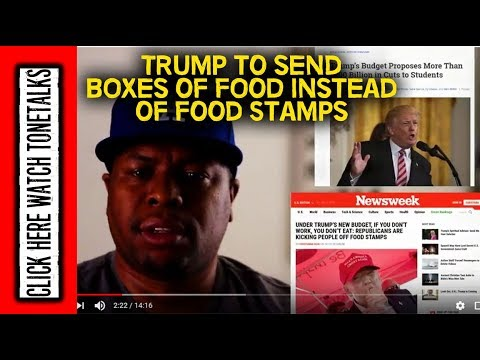 Trump Boxes of Food to replace Food Stamps & How It Shows the Cost Of Having No Black Wealth