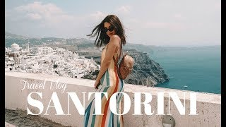 Download TRAVEL VLOG: SANTORINI, GREECE Video