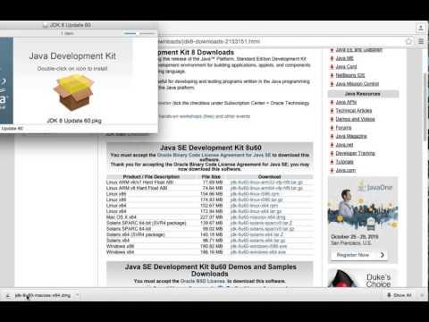 Mac - Install Java 8