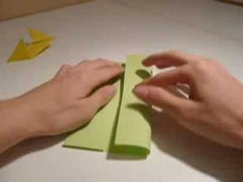 How to make an origami shuriken/throwing star