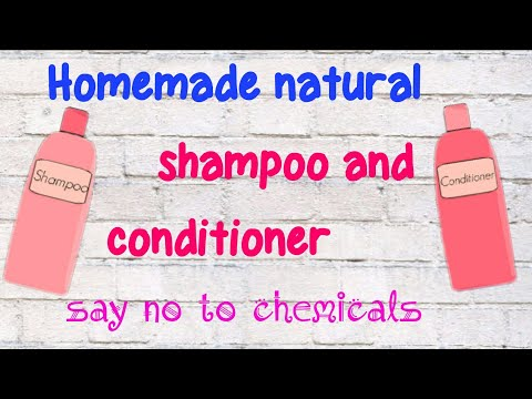 DIY shampoo and conditioner for frizz free hair