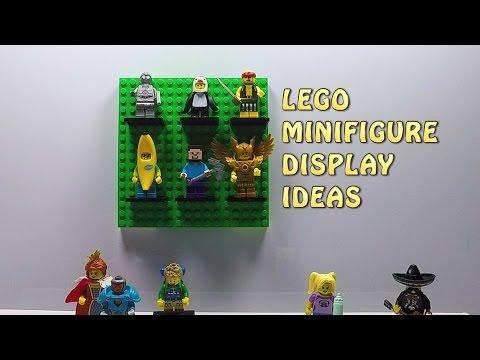 3 Lego Minifigure Display Ideas You Need to Know - LEGO Life Hacks