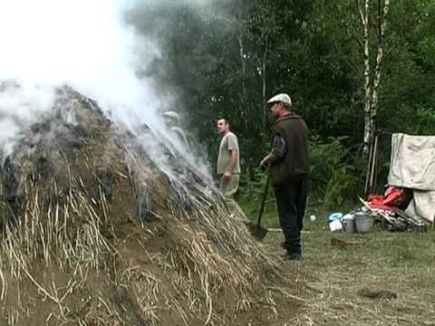 Traditional Charcoal Earth Burn