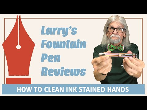 Episode 118   How to Clean Ink Stained Hands