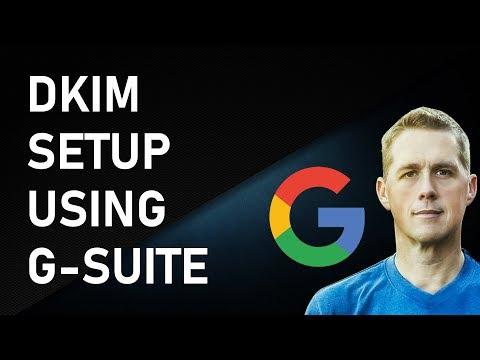 DKIM Setup using G-Suite & AWS | Google DKIM Setup Tutorial