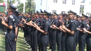 OFFICERS TRAINING ACADEMY (chennai).  PIPPING CEREMONY SSC 102, SSC TECH-45.