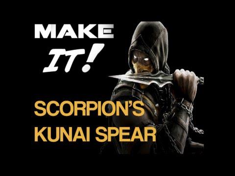 Make It: Scorpion Kunai Spear