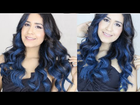 How To: Blue Ombre Hair w/Garnier Color Styler NO BLEACH