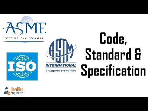 Code Standard and Specification - Learn the difference (Revised)