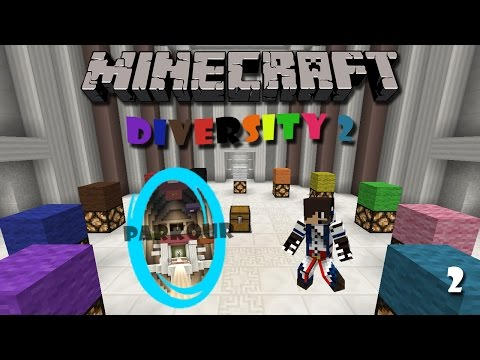 Minecraft Map : Diversity 2 (Part 2) - Parkour Branch
