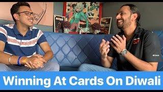 Winning At Poker on Diwali + Giveaway   Karan Singh Magic