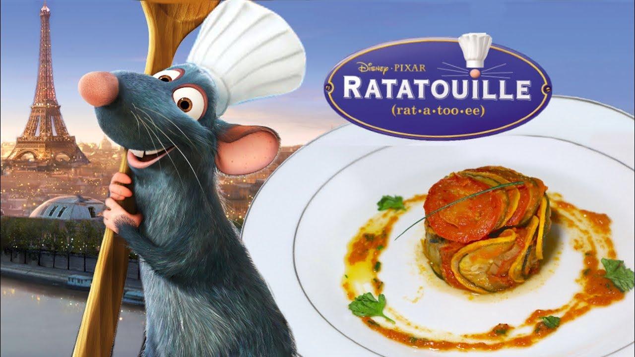 La Ratatouille de Rémy (le confit byaldi) - Disney Pixar Recipe