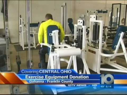 Aussifit, LLC Donates $10,000 Worth of Exercise Equipment to The Gahanna Police Department