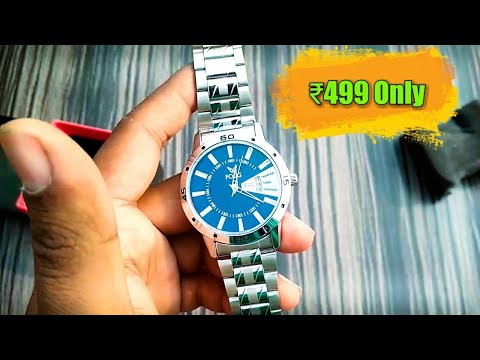 Fogg Premium Watch Unboxing | Happy new year gift | Best Watch Under 500 Rs.